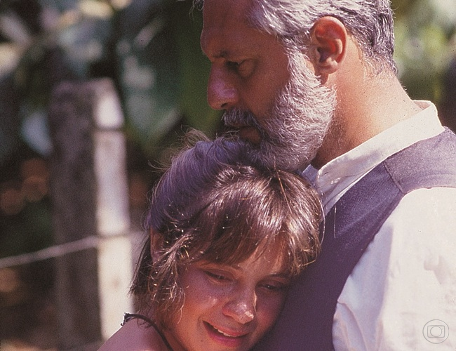 Adriana Esteves e Antonio Fagundes
